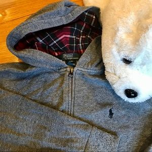 Polo by Ralph Lauren Hooded Full Zip Sweatshirt